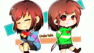 Cannibal Frisk and Chara AMV