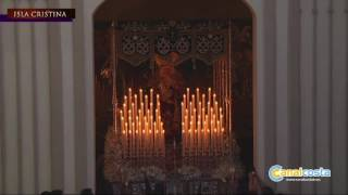 Amargura procesiona el Martes Santo en Isla Cristina 1