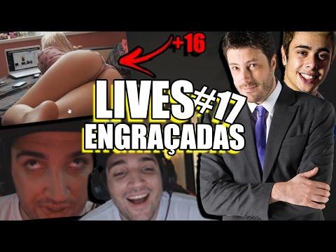 NUDE AO VIVO, DANILO GENTILI IMITANDO YODA & BRTT REAGINDO AO BRTT | LIVES ENGRAÇADAS #17