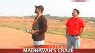 Madhavan's high flying hobby