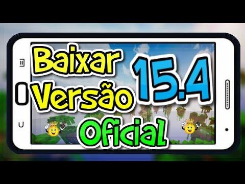 ★Baixar Minecraft PE Versão 15.4 Oficial/sem ERRO Análise