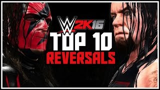 WWE 2K16 - Top 10 Reversals & Counters! | Epic Finishers Into Finishers & More!