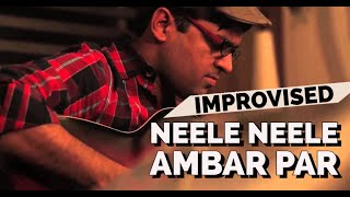 Neele Neele Ambar Par on Guitar