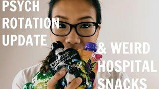 Life in Medical School: My Psychiatry Rotation & Weird Hospital Snacks | Medicine Vlog