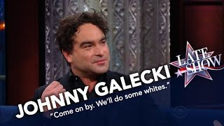 Johnny Galecki Is Skipping The Inauguration To Do Laundry