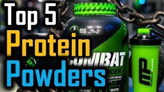 Top 5 Protein Powders 2018 | 5 Best Protein Powders | Best Protein Powders Review