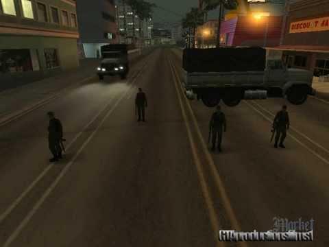 Gta San Andreas El Dia Despues De La Muerte Cap 1 La Invasion