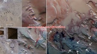 Ancient Aliens On Mars: Alien Temple and Structure On South Pole