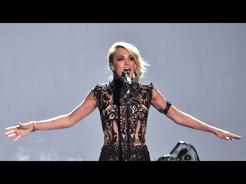 EXCLUSIVE: Carrie Underwood Gushes Over Her Husband at The CMT Awards: 'He Always Looks Hot!'