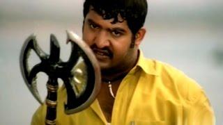 Simhadri Movie    Fight Near Rivar Action Scene    Jr NTR, Bhoomika, Ankitha