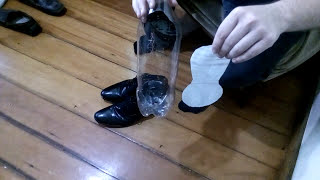Easiest and cheapest diy shoe horn ever