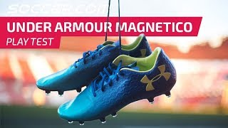 Play Test Review: Under Armour Magnetico, the most comfortable cleats ever???