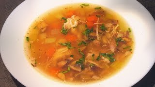 CHICKEN SOUP (also first part of Grand Consommé)