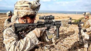 U.S. & Spanish Marines Stay Sharp On The Rifle Range