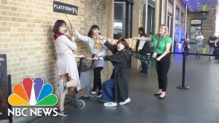 Fans Celebrate Twenty Years Of Harry Potter | NBC News