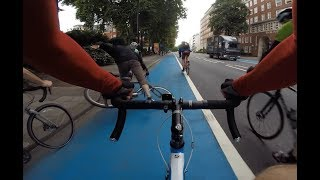 London cycling near misses