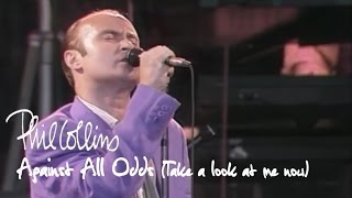 Phil Collins - Against All Odds (Take A Look At Me Now) (Official Music Video)