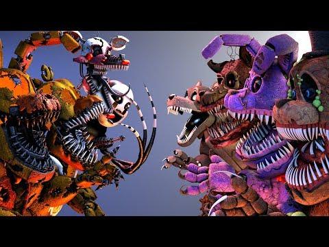 Xxx Mp4 FNaF SFM Twisted Animatronics VS Jack O FNAF 39 S Five Nights At Freddy 39 S Animation 3gp Sex