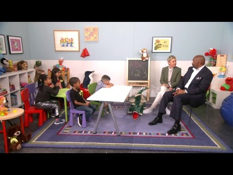 Xxx Mp4 Ellen And Steve Harvey Talk To Kids 3gp Sex