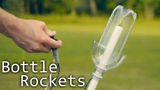How To Make Alcohol Rockets From Soda Bottles