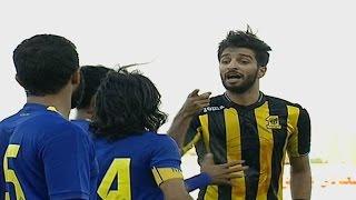 طرد لاعب النصر حسين عبدالغني بعد مشادة مع لاعب نادي الإتحاد فهد الأنصاري | بطولة تبوك الدولية 2016