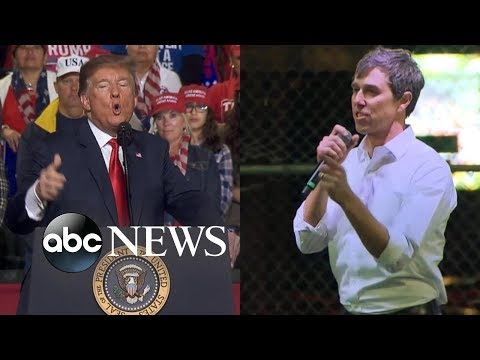 Xxx Mp4 Texas Two Step Donald Trump Beto O Rourke Hold Dueling Rallies 3gp Sex