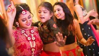 Amulya Dance at Her Marriage Mehendi Function
