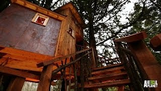 Behind the Build: Record-High Recording Studio | Treehouse Masters