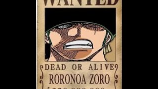 All Straw Hats one piece bounties after Dressrosa - One Piece 754 english sub