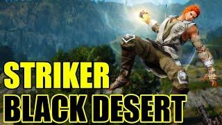 Black Desert Online Striker Short Gameplay Level 52-55