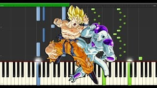 Dragon ball Z   Fight Time - Synthesia
