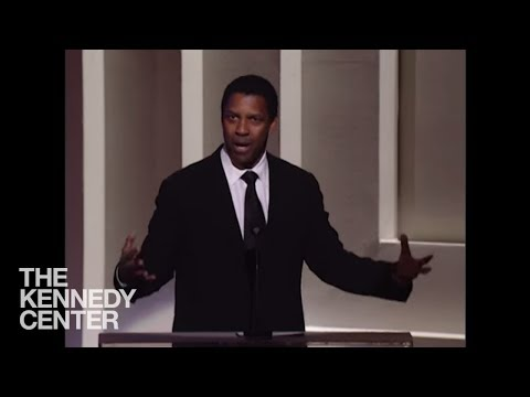 Denzel Washington Morgan Freeman Tribute 2008 Kennedy Center Honors