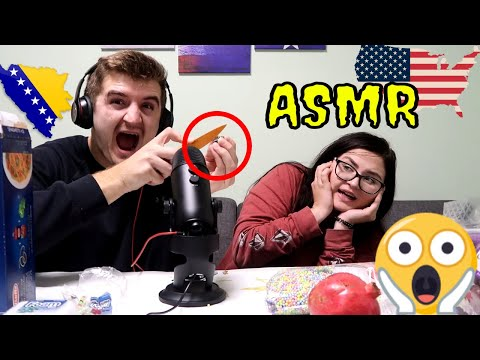 Xxx Mp4 We Tried ASMR For The First Time 3gp Sex
