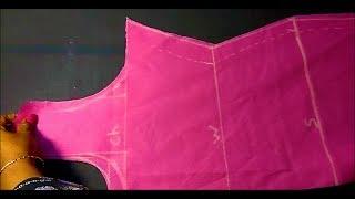 ಚೂಡಿದಾರ ಟಾಪ್ ಕತ್ತರಿಸುವ ಸರಳ ವಿಧಾನ | Chudidar cutting method in Kannada