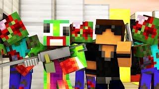 Minecraft Crafting Dead - STUCK IN PRISON! Night 1 (Minecraft Roleplay)