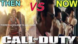 THEN vs. NOW (Call of Duty 2017)