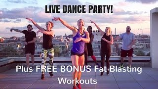 10 Minute Fat Blasting Cardio Dance Workout