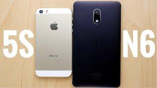 iPhone 5S vs Nokia 6 Speed Test!