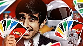 UNO AGAINST A ROBOT?!