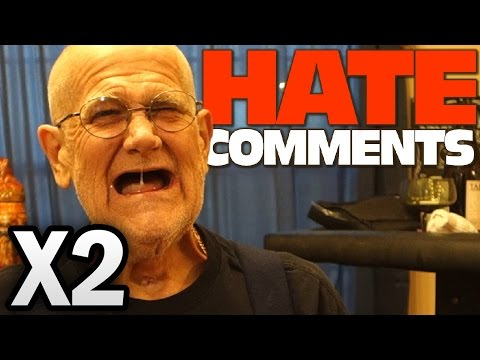 ANGRY GRANDPA READS HATE COMMENTS!! 2X SPEED UP VERSION