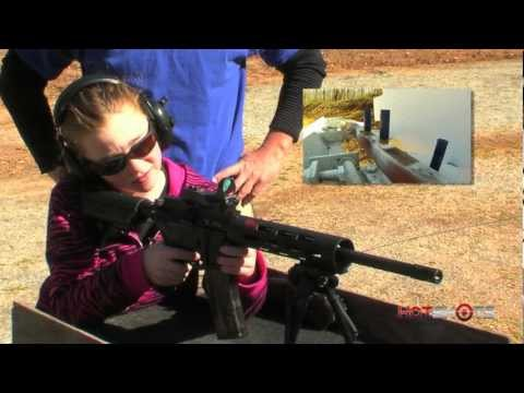3-Gun Champ Loses to 9-year-old Girl!