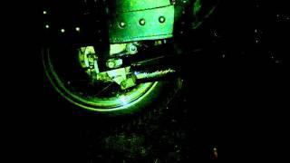 Yamaha Virago 125.. Exhaust flame- MotoLužany