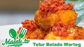 Telur Belado Warteg | Resep #192