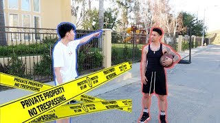 SOMEONE GOT CAUGHT TRESPASSING THE ACE FAMILY