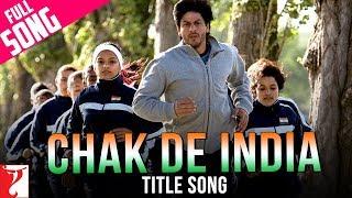 Chak De India - Title Song | Shah Rukh Khan | Sukhvinder Singh | Salim | Marianne D'Cruz