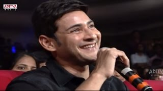 DSP Funny Questions To Mahesh Babu  @ Srimanthudu Audio Launch