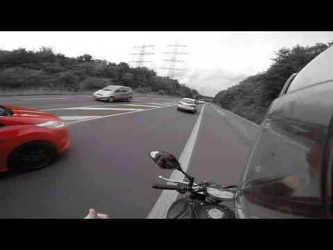 Yamaha MT 07 0-100 | 0-Top Speed | VS Ford Fiesta ST