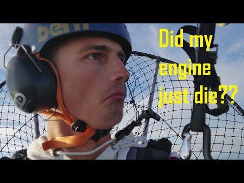 Paramotor Runs out of Fuel at 7 000 Feet