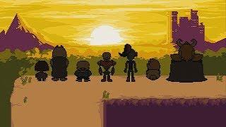 UNDERTALE PS4 True Pacifist Ending and Final Boss Asriel Dreemurr