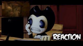 SFM| Bendy reacts to BATIM Chapter 3 Trailer| HD